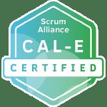 Bild: Zertifizierungs Badge 'Certified Agile Leadership - Essentials' der Scrum Alliance