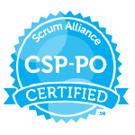 Bild: Certification Badge 'Certified Scrum Professional - Product Owner' of Scrum Alliance